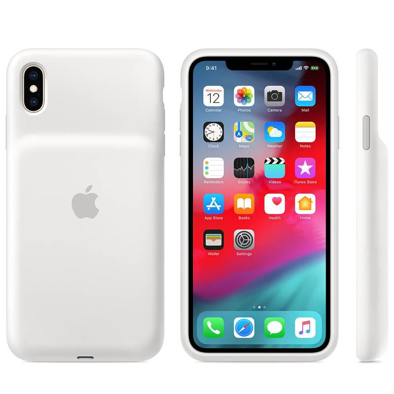 Kryt na mobil Apple Smart Battery Case pro iPhone Xs Max bílý