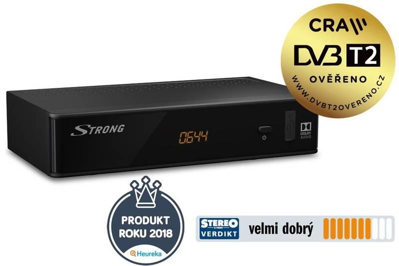 Set-top box Strong SRT 8211 černý, Set-top, box, Strong, SRT, 8211, černý