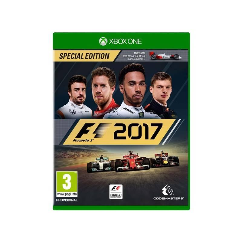 Hra Codemasters Xbox One F1 2017