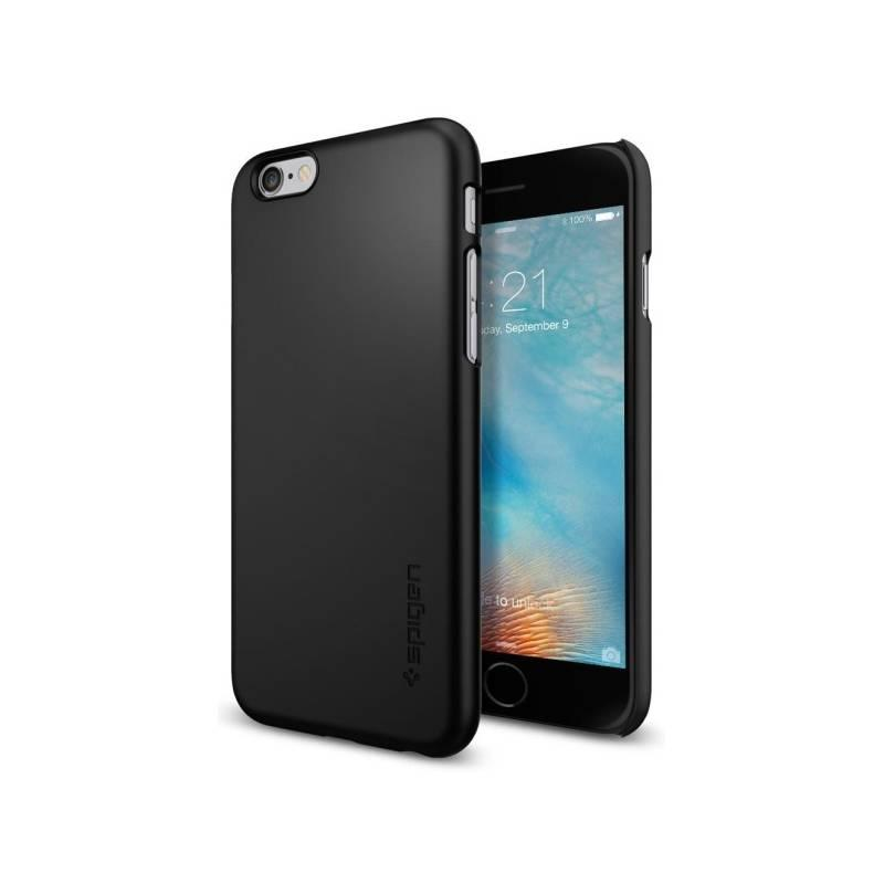 Kryt na mobil Spigen Thin Fit Apple iPhone 6 6s černý
