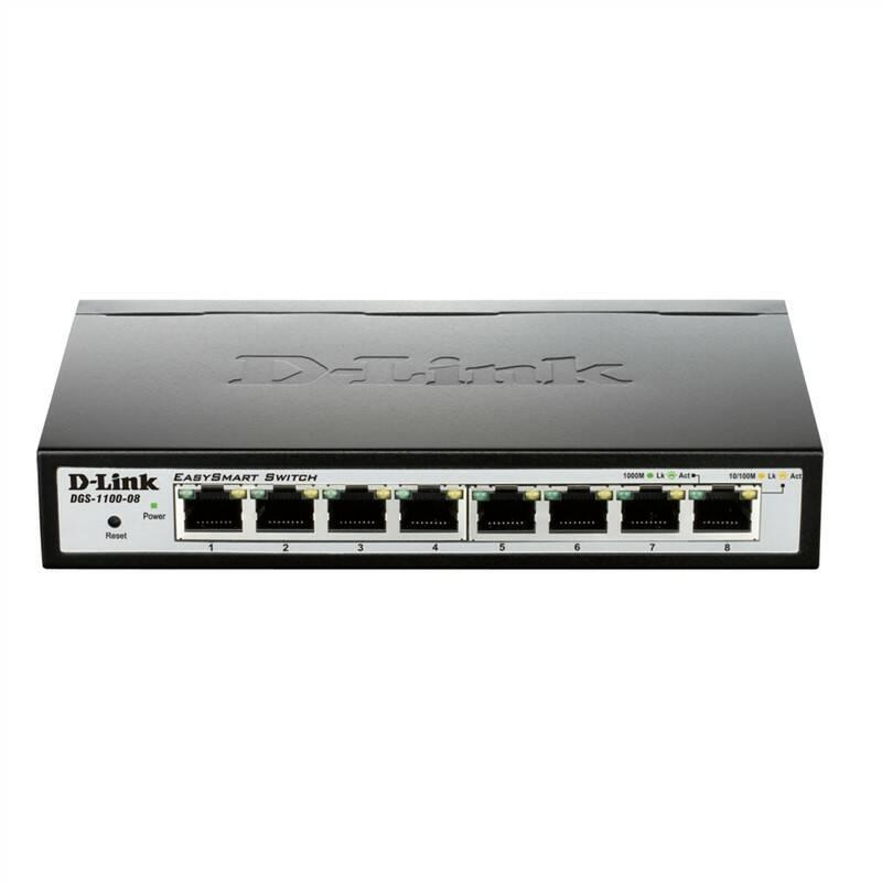Switch D-Link DGS-1100-08 E