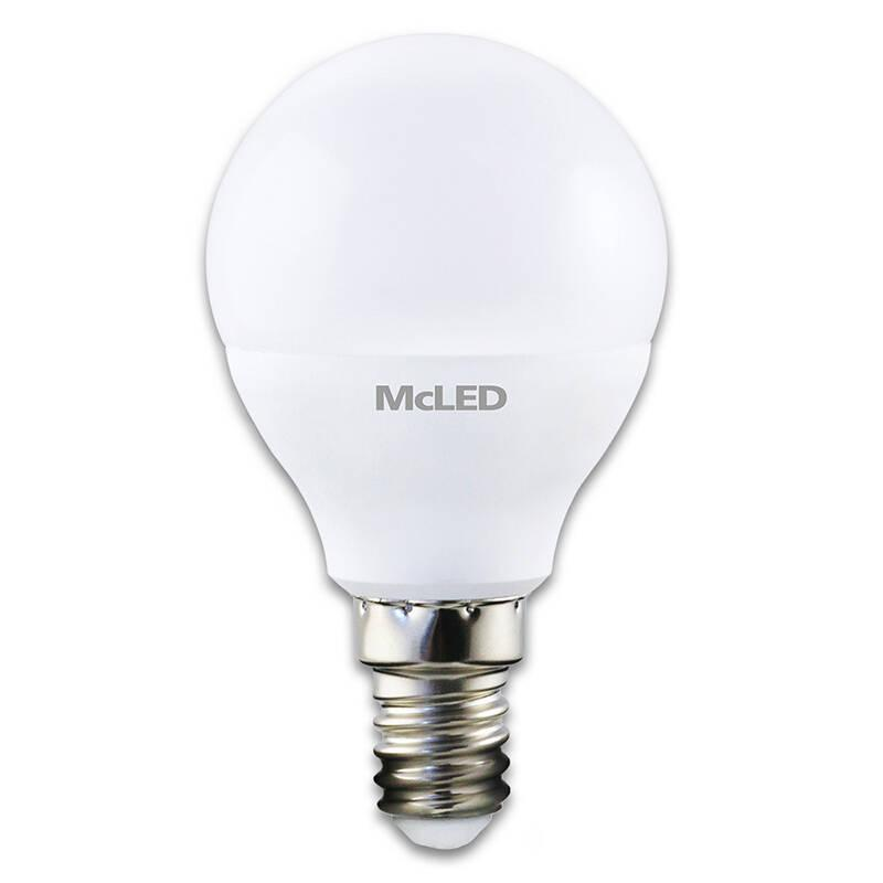 Žárovka LED McLED kapka, 3,5W, E14,