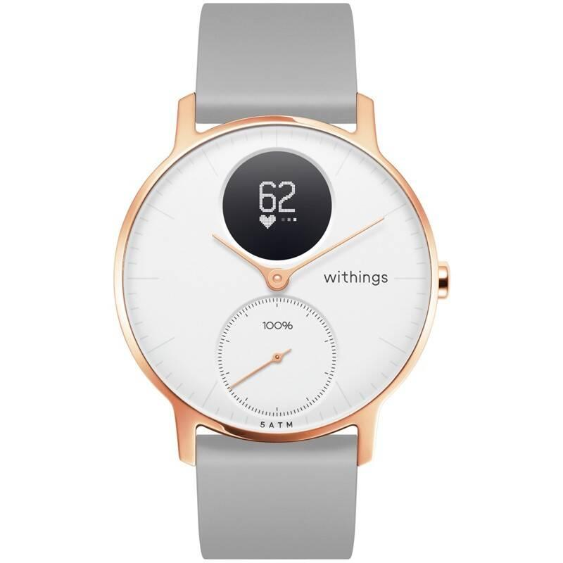 Chytré hodinky Withings Steel HR Rose