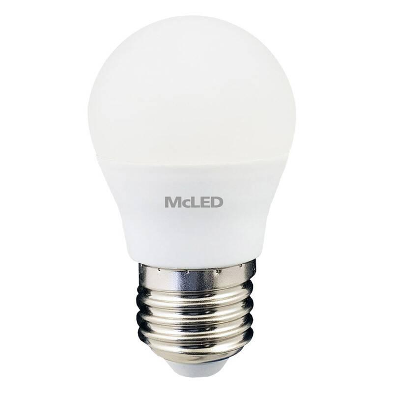 Žárovka LED McLED kapka, 5,5W, E27,