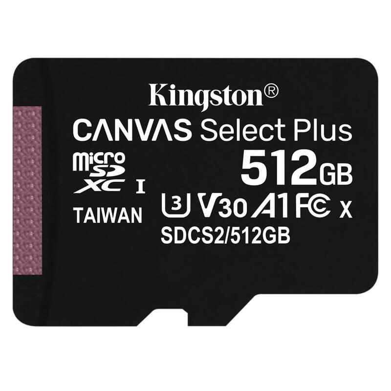 Paměťová karta Kingston Canvas Select Plus