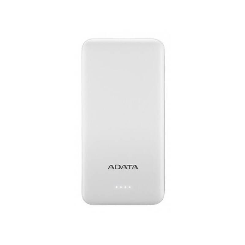 Powerbank ADATA AT10000, 10000mAh bílá
