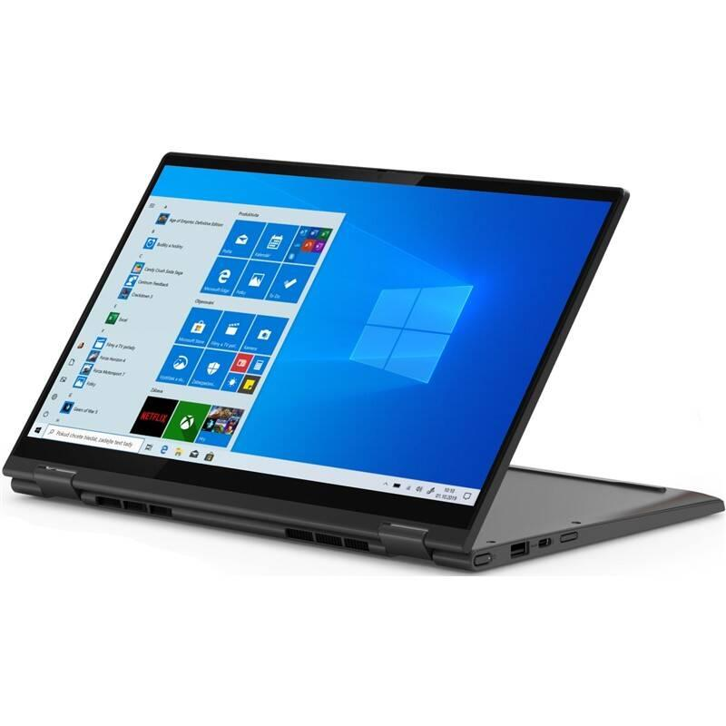 Notebook Lenovo Yoga C640-13IML šedý