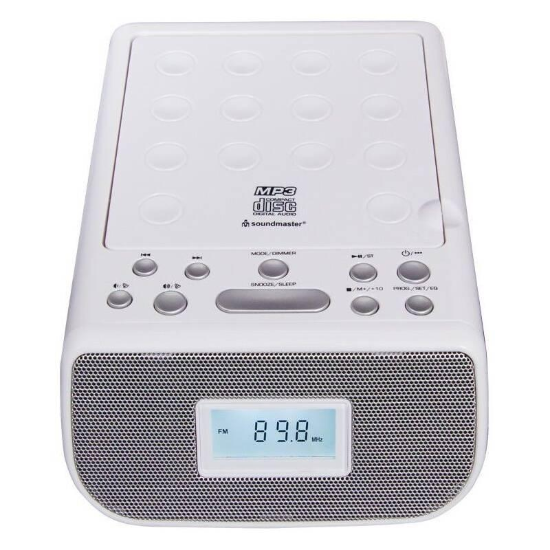 Radiobudík Soundmaster URD860WE bílý