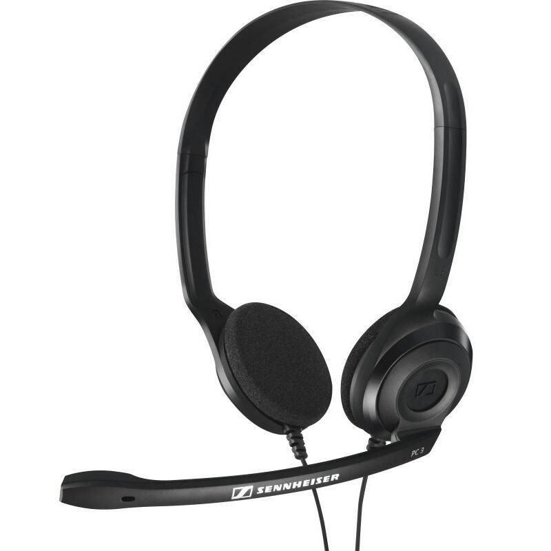 Headset Sennheiser PC 3 CHAT černý
