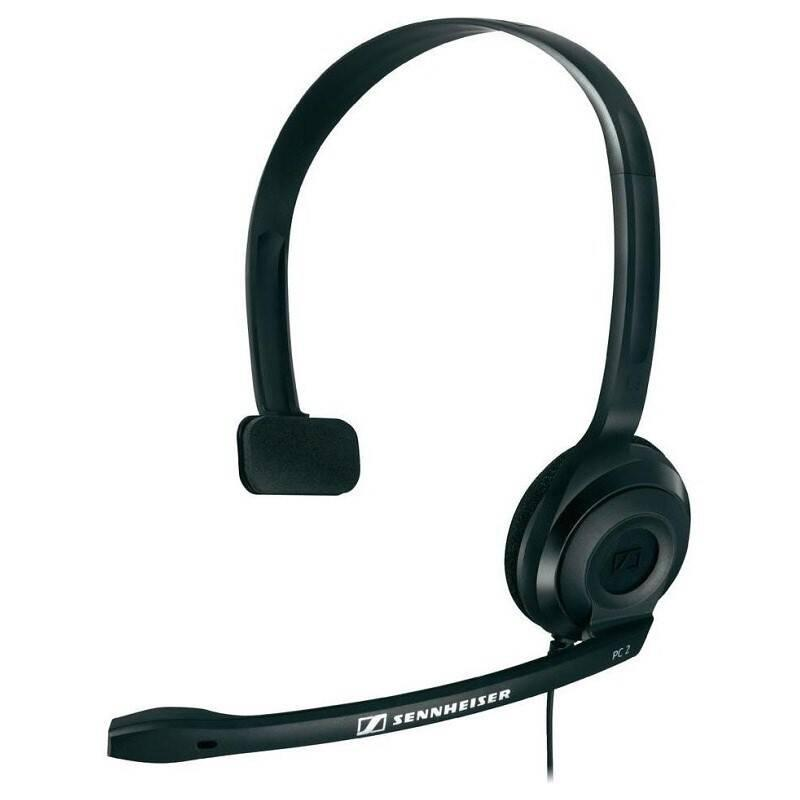Headset Sennheiser PC 2 CHAT černý