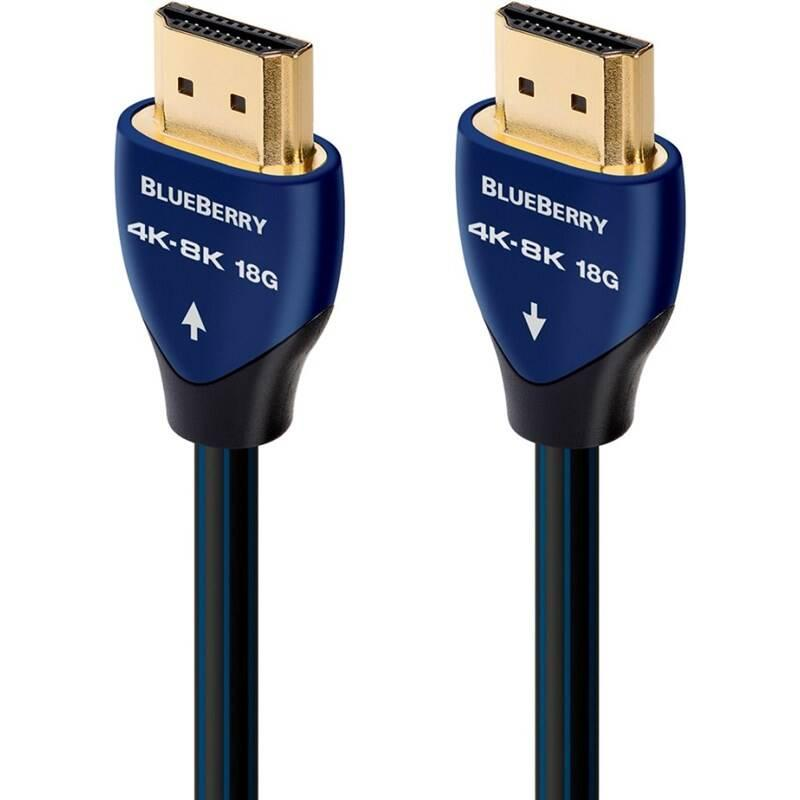 Kabel AUDIOQUEST HDMI 2.0 BlueBerry, 0,6